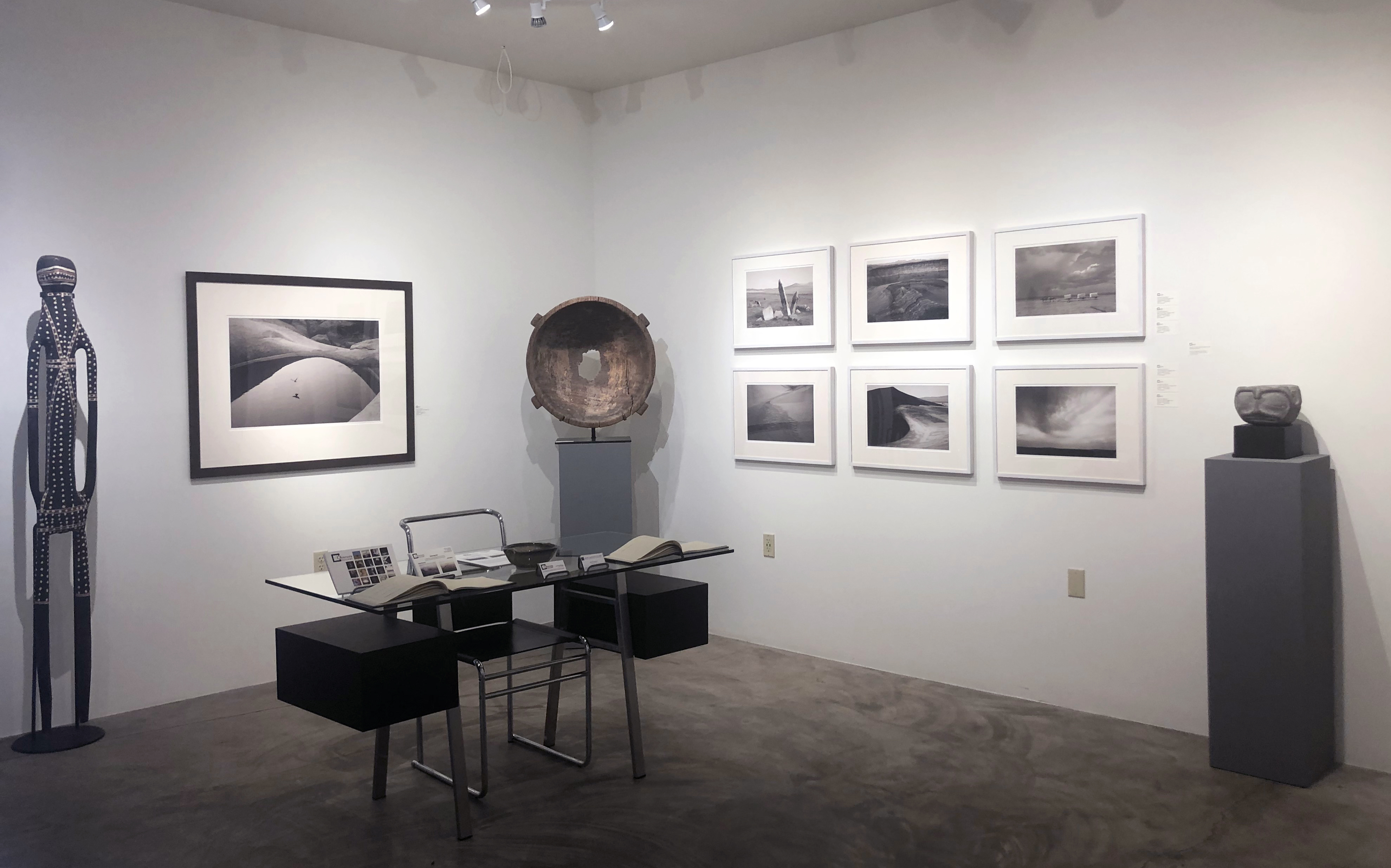 Installation gallery image of the exhibit Traversing East with Michael Berman and Neil Folberg