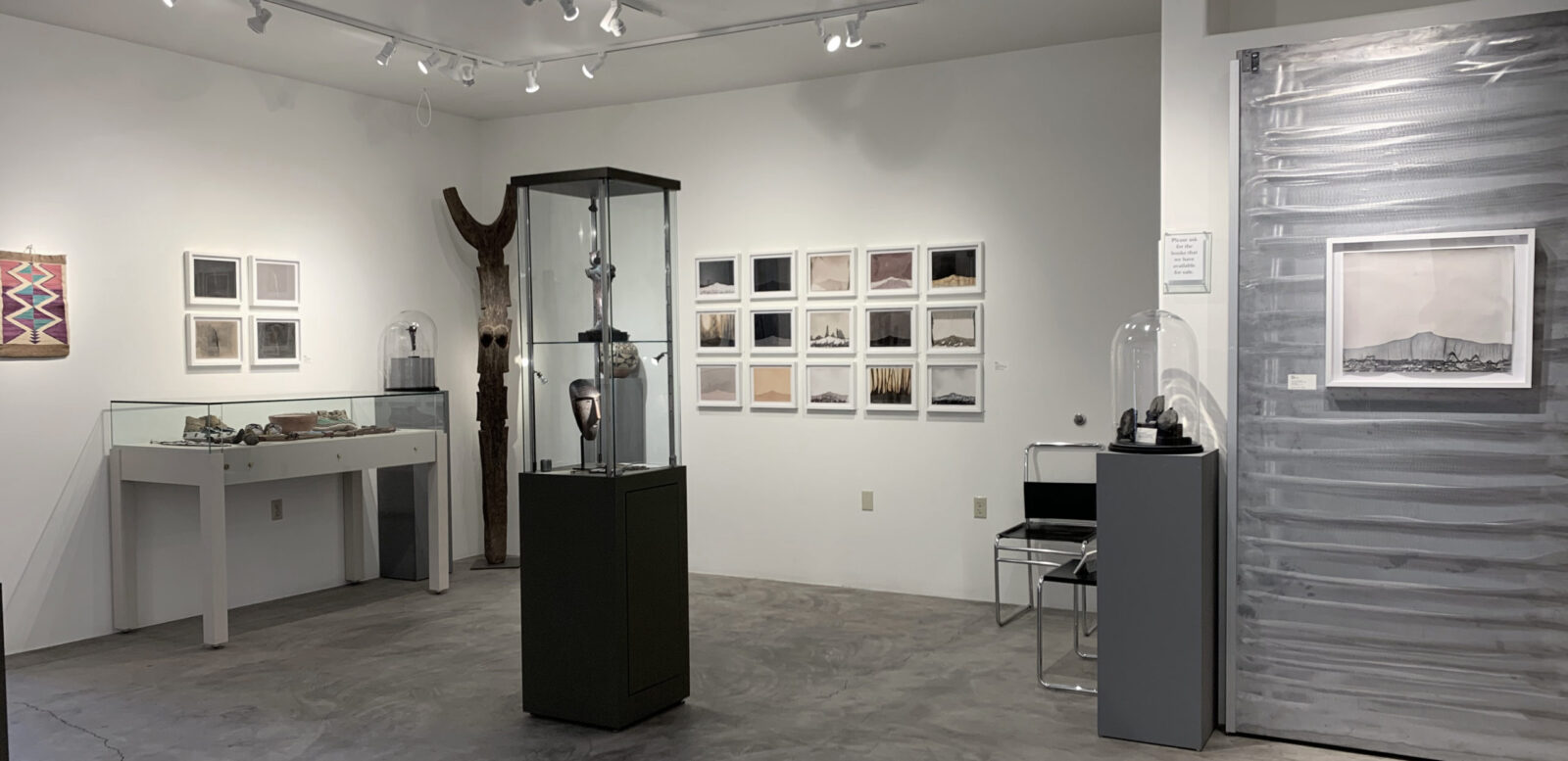 Installation image of Caitlyn Soldan's gallery exhibition