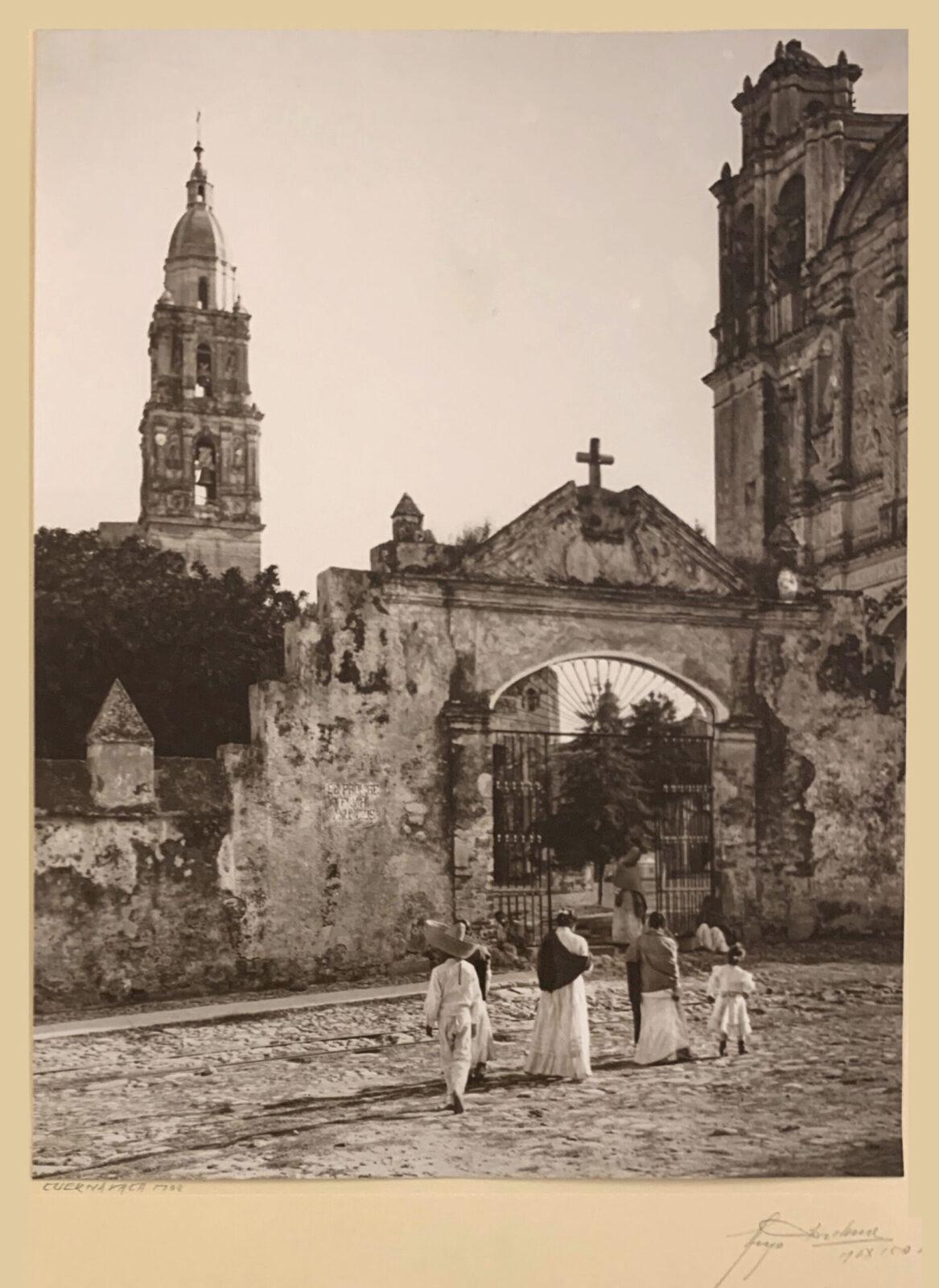 HUGO BREHME, Cuernavaca, Mexico, c. 1920, 13.25 x 10.5″, gelatin silver print.